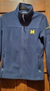 MICHIGAN Columbia fleece jacket